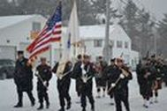 Marching in the Snow