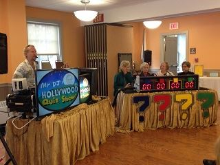 Seniors Participating in a Game Show