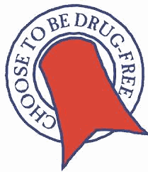 Choose to be Drug Free Logo