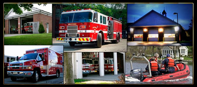 Fire Vehicles, Stations, and Water Rescue