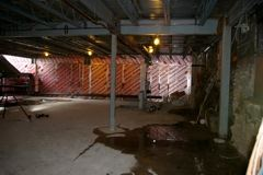 Basement Area and Beams